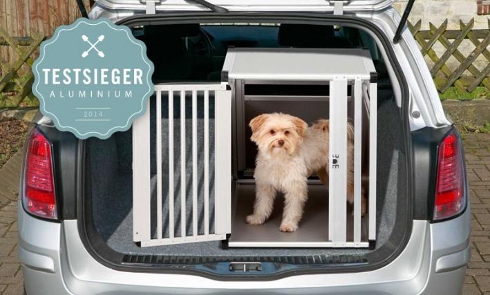Karlie Hundetransportbox aus Aluminium